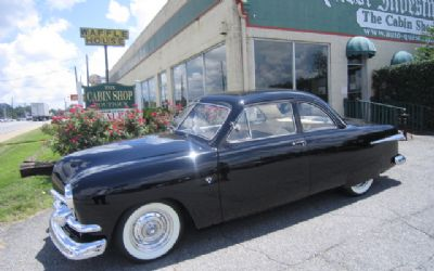 1951 Ford 2 Door Business Coupe (72C) Deluxe V-8